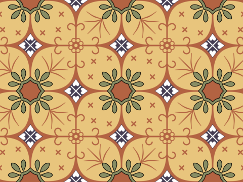 Pattern on Calico - Java