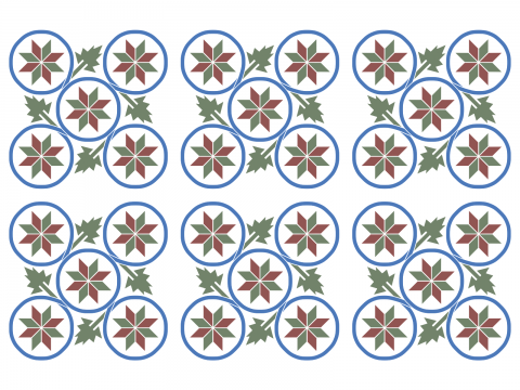 Pattern Spanish Tile